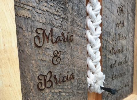 Wedding Braid Plaques
