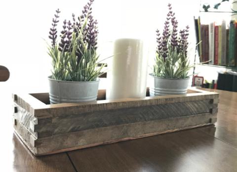 Hardwood Centerpieces