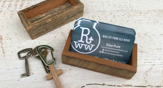 Business Card and Ring Boxes from TobaccoSticks