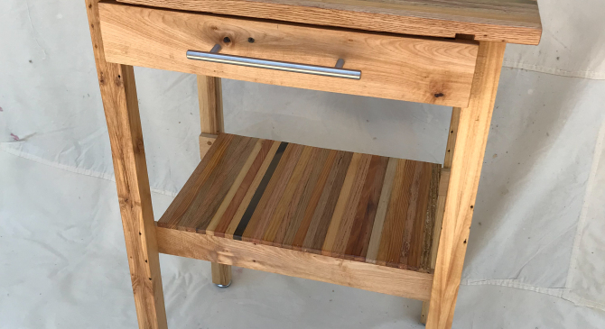 Kitchen Island from ReclaimedWood